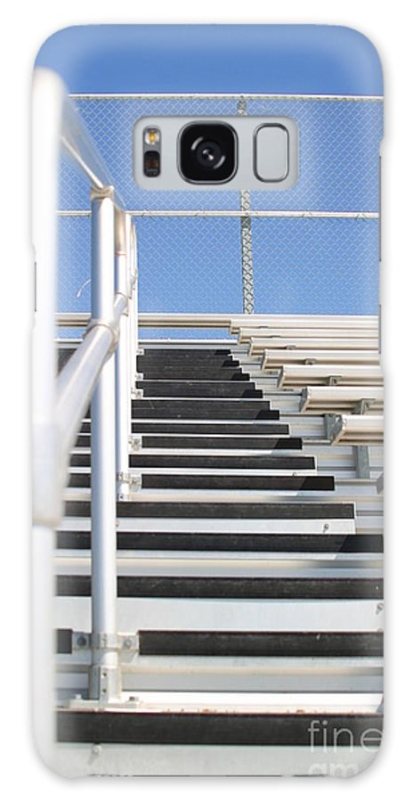 Aluminum Galaxy S8 Case featuring the photograph Bleachers by Henrik Lehnerer