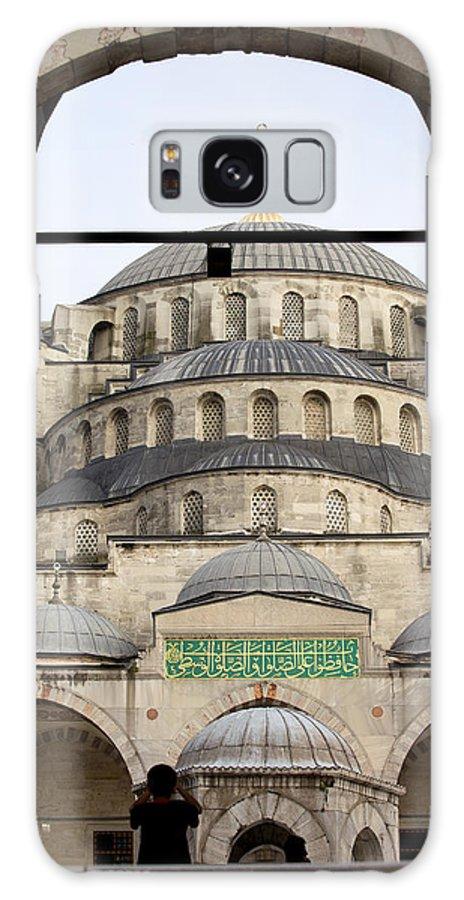 Blue Galaxy S8 Case featuring the photograph Blue Mosque by Artur Bogacki