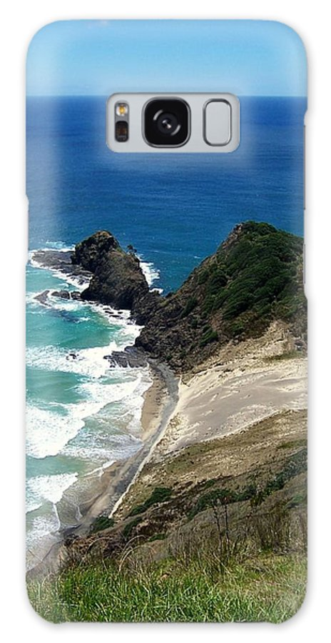 New Zealand Galaxy S8 Case featuring the photograph Cape Reinga - North Island by Peter Mooyman