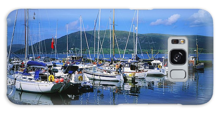 Journey Galaxy S8 Case featuring the photograph Carlingford Yacht Marina, Co Louth by The Irish Image Collection