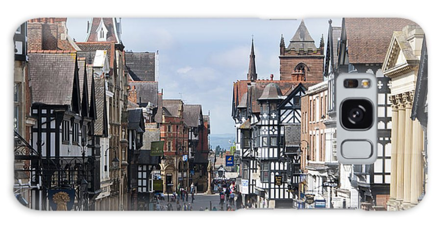 2011 Galaxy S8 Case featuring the photograph Chester City Centre by Andrew Michael