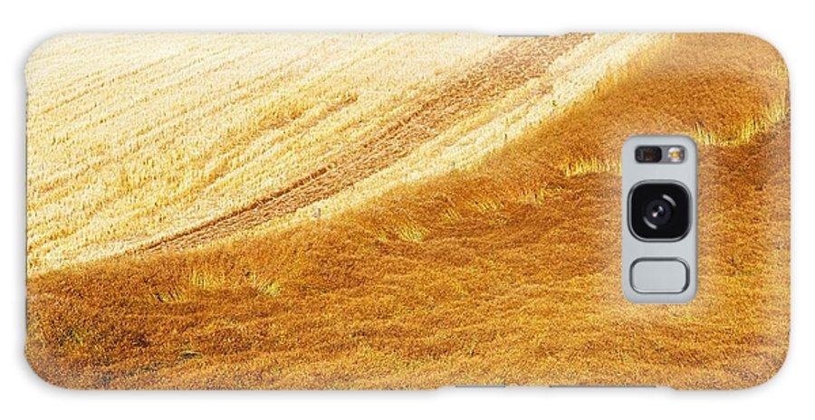 Color Image Galaxy S8 Case featuring the photograph Crops, Oil Seed Rape by The Irish Image Collection