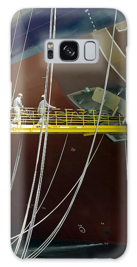Suezmax Crude Carrier Galaxy S8 Case featuring the photograph Crude Oil Tanker by David Parker