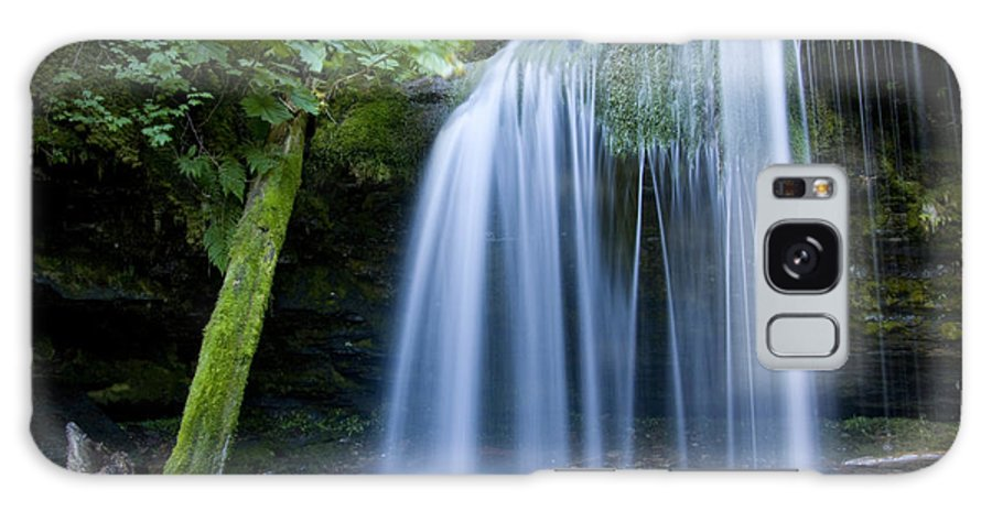 Fern Falls Galaxy S8 Case featuring the photograph Fern Falls by Idaho Scenic Images Linda Lantzy
