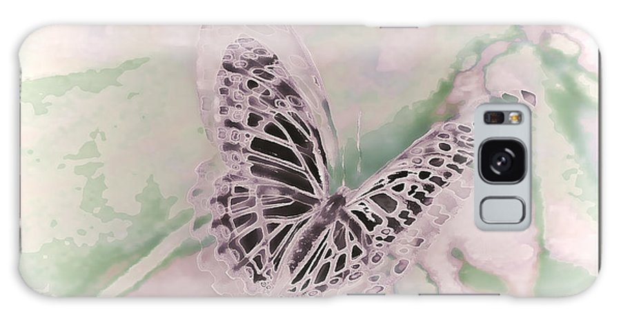 Flutter Of Spring Galaxy S8 Case featuring the photograph Flutter by Debra   Vatalaro