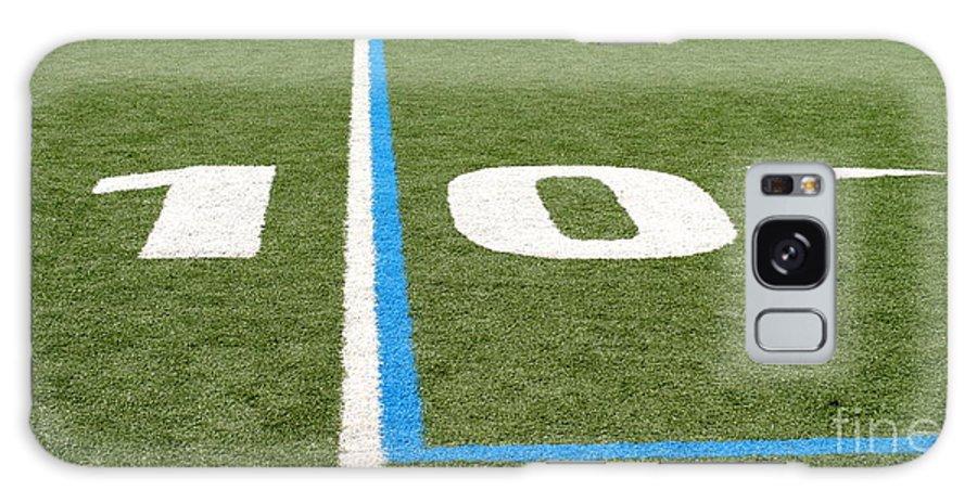American Galaxy S8 Case featuring the photograph Football Field Ten by Henrik Lehnerer