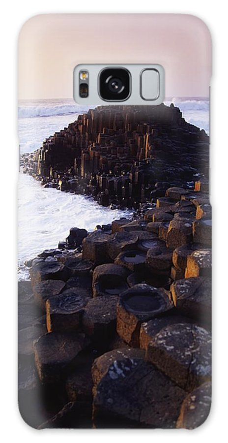 Beauty In Nature Galaxy S8 Case featuring the photograph Giants Causeway, Co Antrim, Ireland by The Irish Image Collection