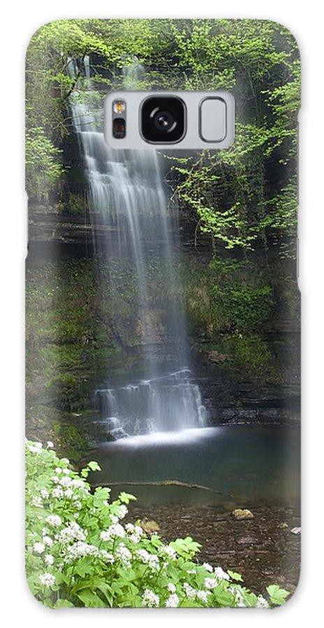 Day Galaxy S8 Case featuring the photograph Glencar Waterfall, Co Sligo, Ireland by Gareth McCormack