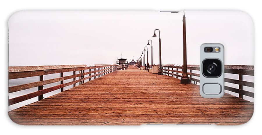 Imperial Beach Galaxy S8 Case featuring the photograph Imperial Beach Pier by Tanya Harrison