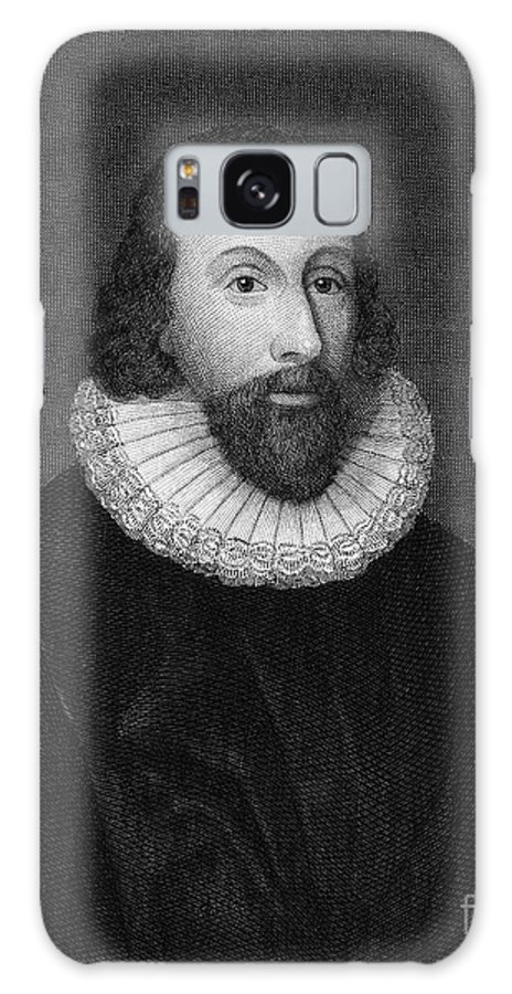 16th Century Galaxy S8 Case featuring the photograph John Winthrop (1588-1649) by Granger
