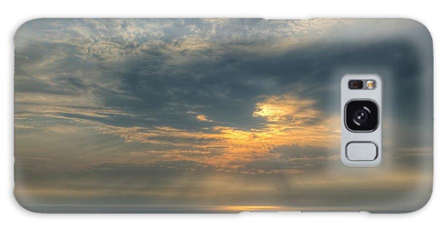 Lake Galaxy S8 Case featuring the photograph Lake Michigan Sunset by Dean Pennala