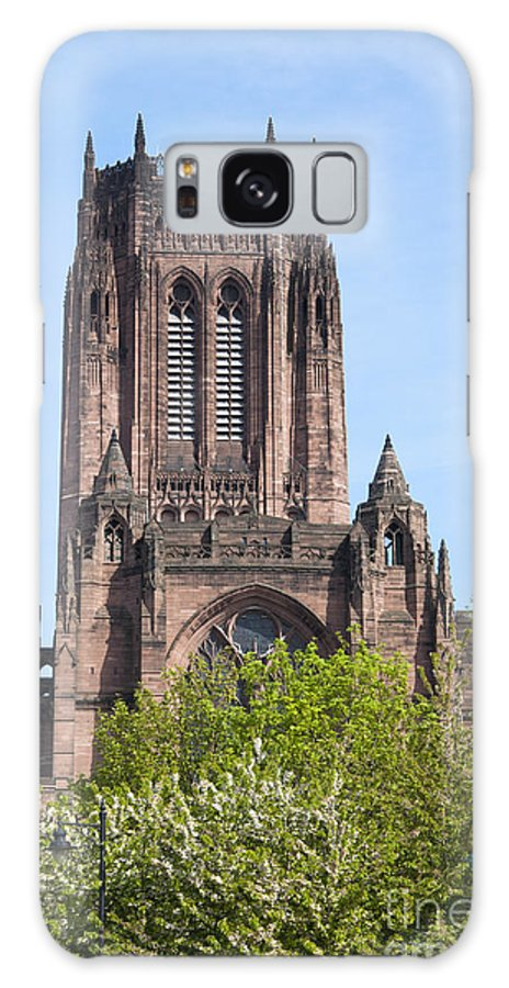 2011 Galaxy S8 Case featuring the photograph Liverpool Anglican Cathedral by Andrew Michael