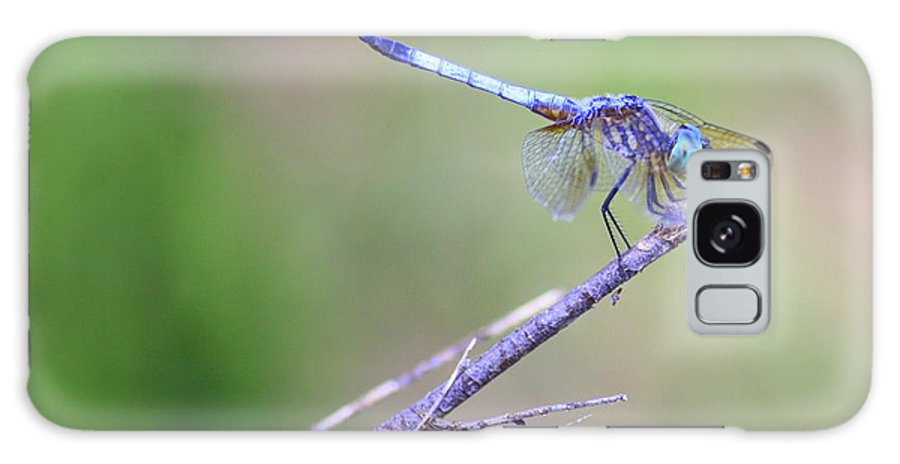 Dragonfly Galaxy S8 Case featuring the photograph Living On The Edge by Carol Groenen