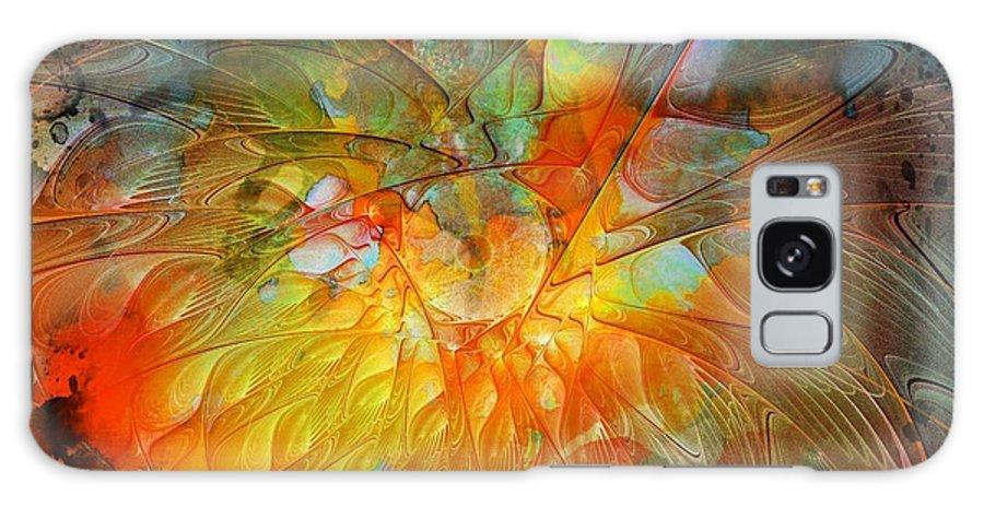 Digital Art Galaxy S8 Case featuring the digital art Metamorphosis by Amanda Moore