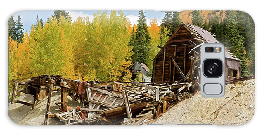 Colorado Galaxy S8 Case featuring the photograph Mining Ruins by Steve Stuller