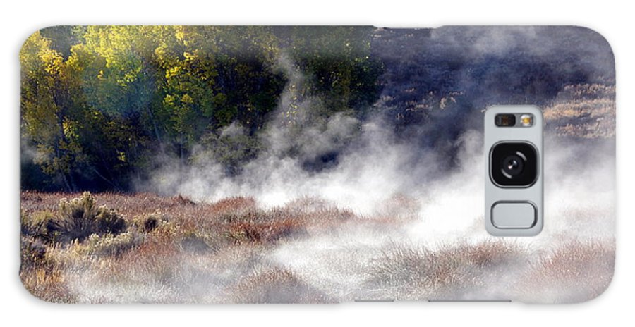 Hot Springs Galaxy S8 Case featuring the photograph Mountain Hot Springs by Jeff Lowe