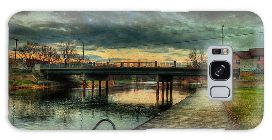 Acrylic Prints Galaxy S8 Case featuring the photograph Napanee Harbour by John Herzog