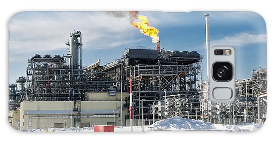 Natural Galaxy S8 Case featuring the photograph Natural Gas Liquefaction Plant by Ria Novosti