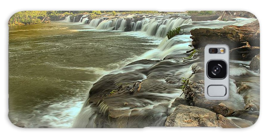 West Virginia Waterfalls Galaxy S8 Case featuring the photograph New River Waterfall by Adam Jewell