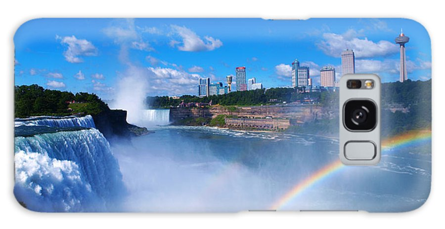 Niagara Galaxy S8 Case featuring the photograph Niagara Waterfalls by Paul Ge