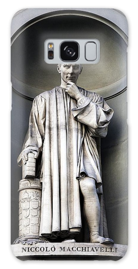 Ethics Galaxy S8 Case featuring the photograph Niccolo Machiavelli by Sheila Terry
