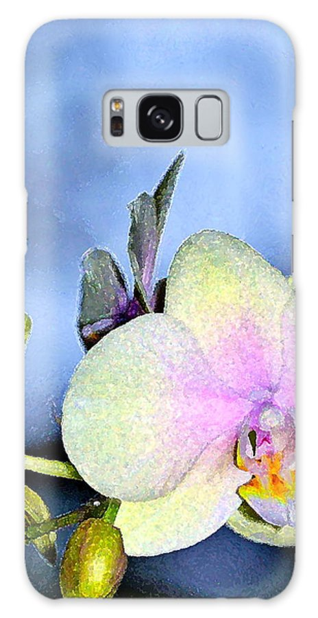 Floral Galaxy S8 Case featuring the photograph Orchid 1 by Pamela Cooper
