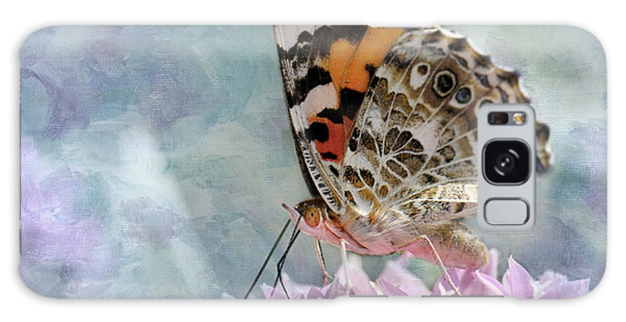 Butterfly Galaxy S8 Case featuring the photograph Painted Lady Butterfly by Betty LaRue
