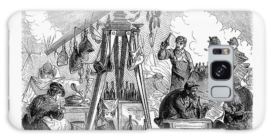 1871 Galaxy S8 Case featuring the photograph Paris Commune, 1871 by Granger