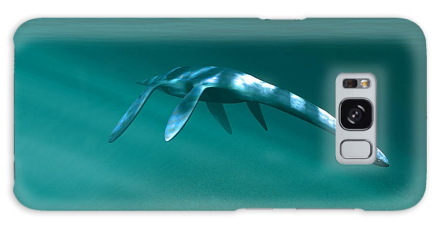 Plesiosaur Galaxy S8 Case featuring the photograph Plesiosaur by Christian Darkin
