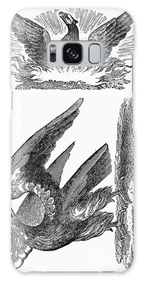 1825 Galaxy S8 Case featuring the photograph Printers Cut, 1825 by Granger