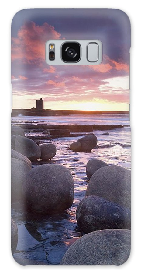 Roslee Castle Galaxy S8 Case featuring the photograph Roslee Castle, Easky, County Sligo by Gareth McCormack