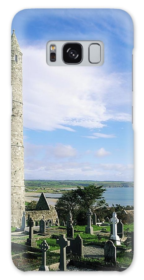 Ardmore Galaxy S8 Case featuring the photograph Round Tower, Ardmore, Co Waterford by The Irish Image Collection