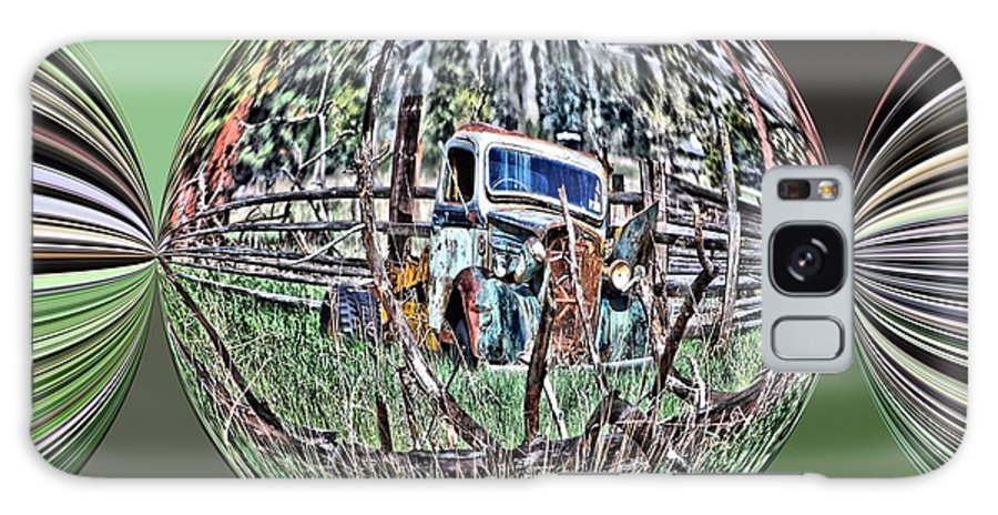 Truck Galaxy S8 Case featuring the digital art Rust In Peace by Don Mann