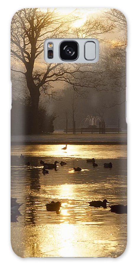 Back Lit Galaxy S8 Case featuring the photograph Saint Stephens Green, Dublin, Co by The Irish Image Collection