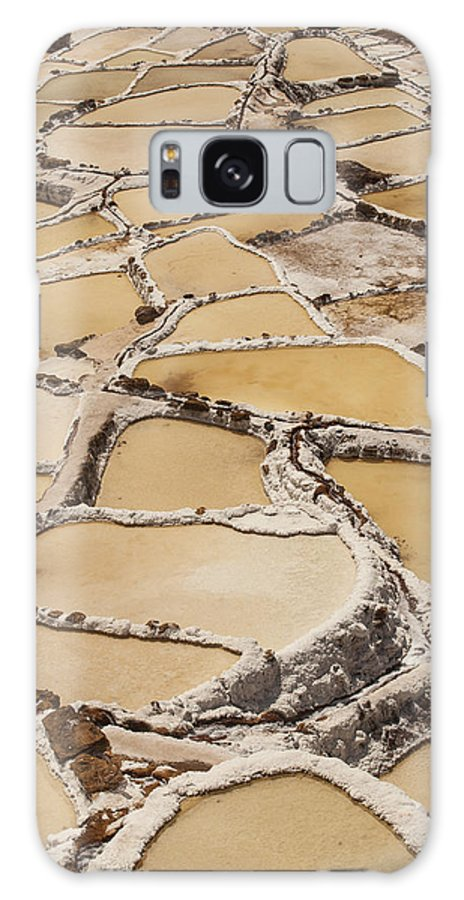 00498231 Galaxy S8 Case featuring the photograph Salt Spring And Incan by Colin Monteath