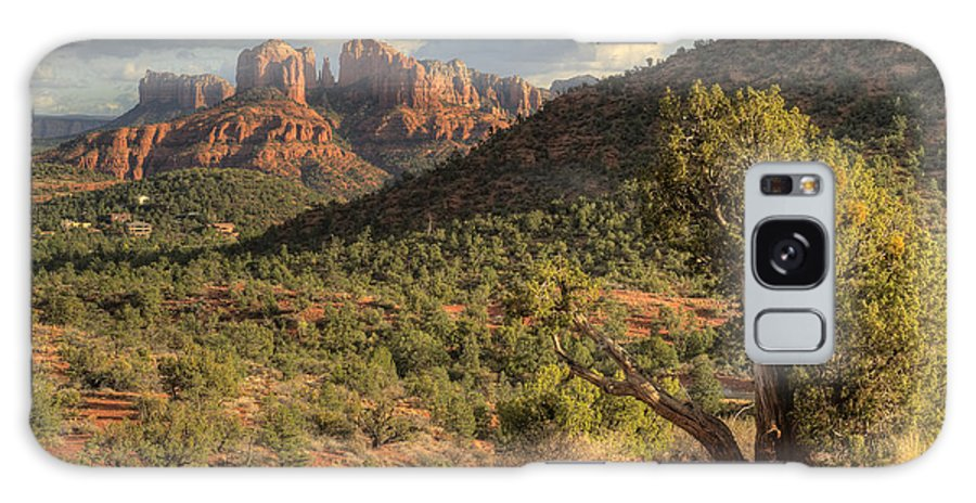 Sedona Galaxy S8 Case featuring the photograph Sedona Red Rock by Sandra Bronstein