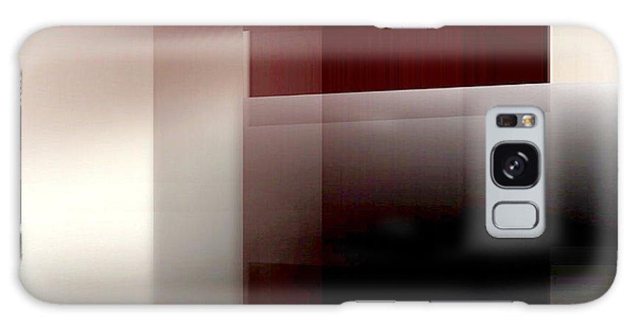 Abstract Galaxy S8 Case featuring the digital art Soft Light 2 by John Krakora