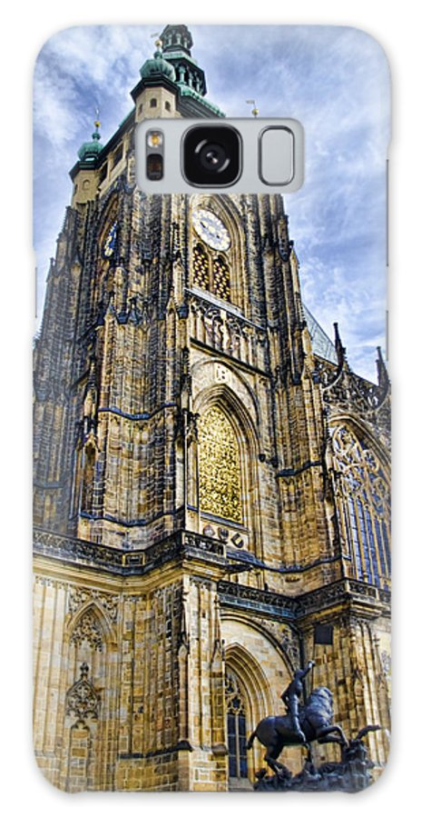 St Vitus Cathedral Galaxy S8 Case featuring the photograph St Vitus Cathedral - Prague by Jon Berghoff