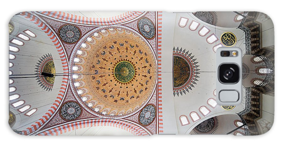Arch Galaxy S8 Case featuring the photograph Suleymaniye Mosque Ceiling by Artur Bogacki