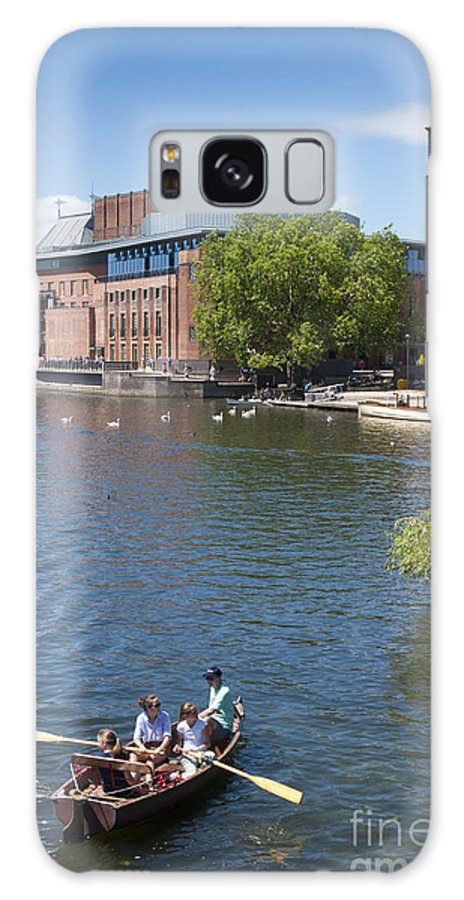2011 Galaxy S8 Case featuring the photograph Swan Theatre by Andrew Michael