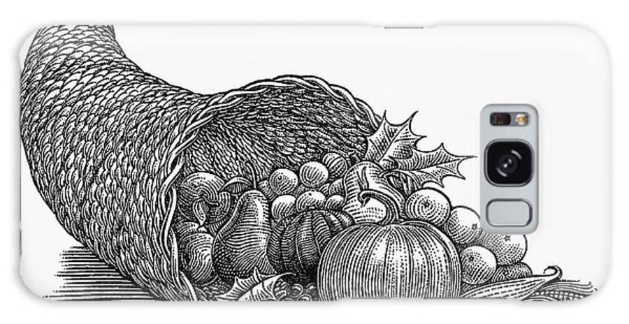 19th Century Galaxy S8 Case featuring the photograph Thanksgiving: Cornucopia by Granger