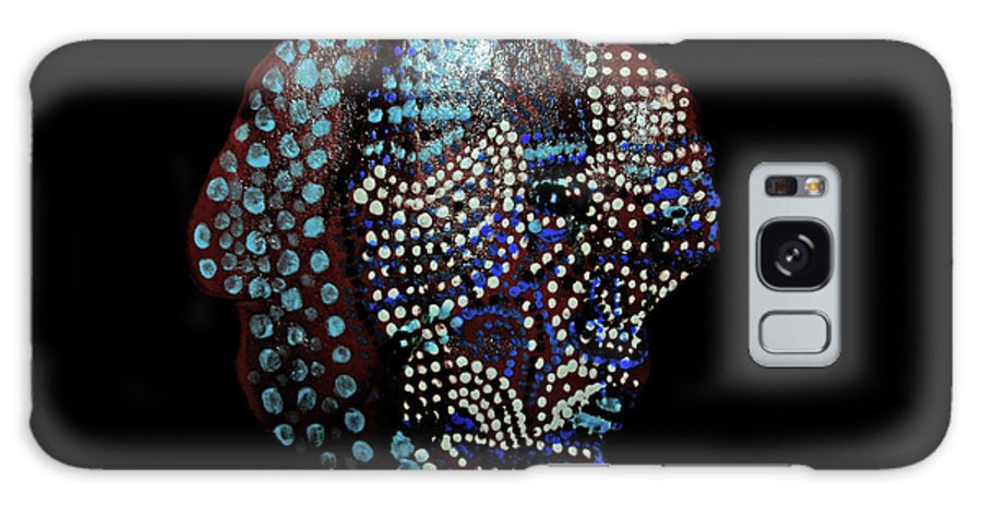 Godly Galaxy S8 Case featuring the ceramic art The Two Hearts by Gloria Ssali
