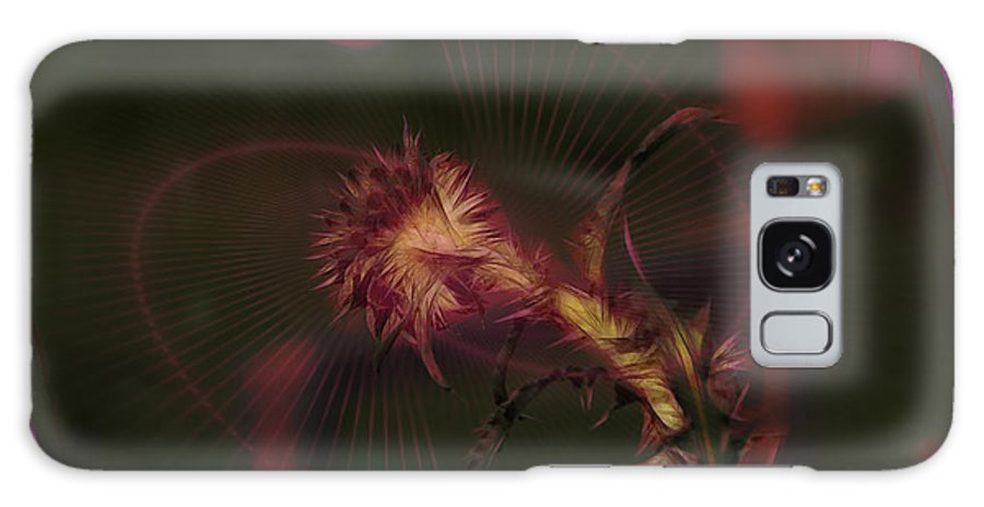 Thistle Galaxy S8 Case featuring the photograph Thistle by Ericamaxine Price