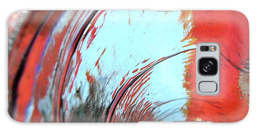 Red Galaxy S8 Case featuring the photograph Tsunami 2 by Stephanie Moore