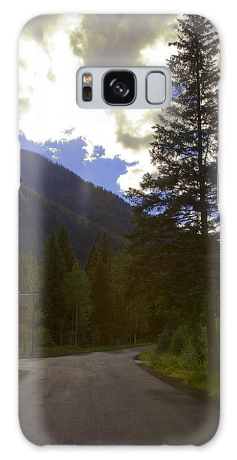 Vail Galaxy S8 Case featuring the photograph Vail Road by Madeline Ellis