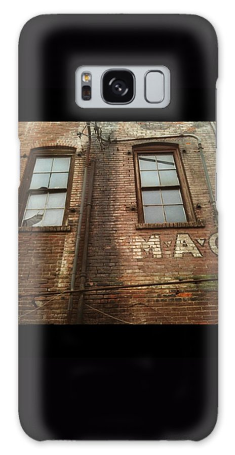 Galaxy S8 Case featuring the photograph Weathered Wall by Gypsy Chic