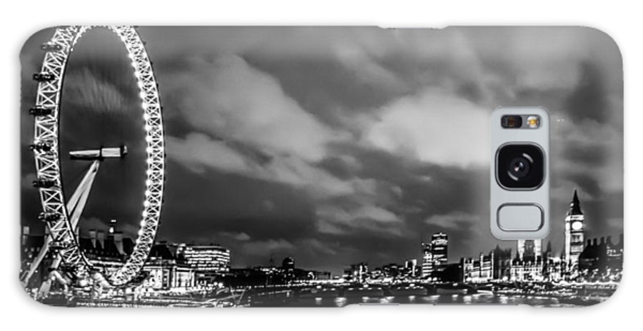 Millennium Wheel Galaxy S8 Case featuring the photograph Westminster by Dawn OConnor