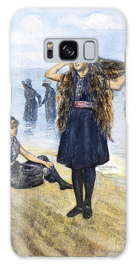 1886 Galaxy S8 Case featuring the photograph Womens Fashion, 1886 by Granger