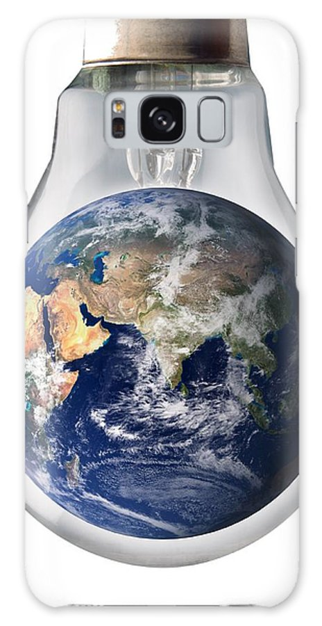 Artwork Galaxy S8 Case featuring the photograph Global Warming, Conceptual Image by Victor De Schwanberg