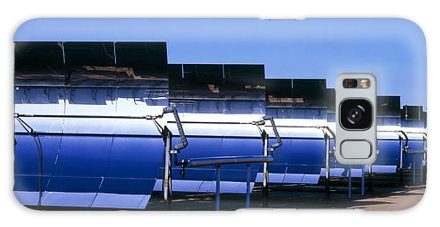 Solar Energy Generating Galaxy S8 Case featuring the photograph Solar Power Plant, California, Usa by David Nunuk